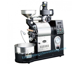 Chinese Industrial automatic gas and electric Coffee Bean Roasting  Machine