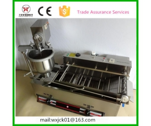 Comercial double row gas and electricity donut machine factory price