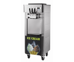 Commercial super big capacity and size soft serve ice cream machine