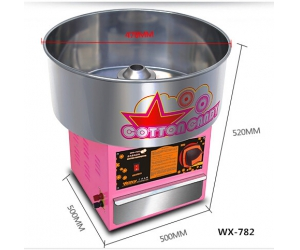 Cotton Candy Floss machine | Fabricant Gas Cotton Candy Machine