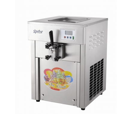China 1 flavor Economical and Practical Type soft ice cream machine factory