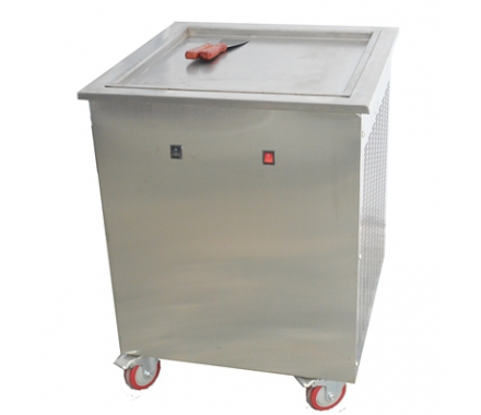 Chine 50cm Fried plat unique Pan de glace pain Machine usine