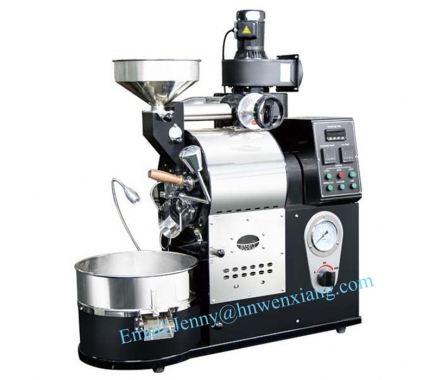 China Chinese Industrial Automatic Gas and Electric Coffee Bean Rösten Machine-Fabrik