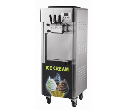 China Commercial super big capacity and size soft serve ice cream machine factory