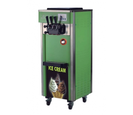 China Green ice cream machine/Economic soft ice cream machine /practice ice cream maker factory