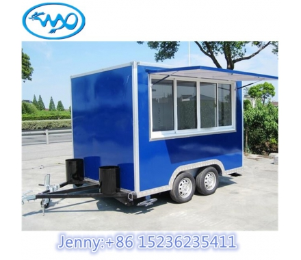 China House Type Mobile Food Cart Trailer-Fabrik