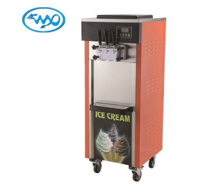 China Stainless steel water receiving pan soft ice cream machine price factory